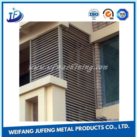 Aluminum/Galvanized Steel Windows-Shades for Air Conditioning Shield pictures & photos