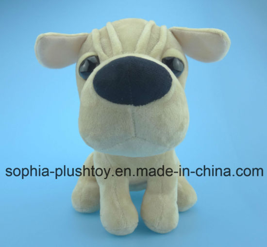 20cm Soft Plush Dog Toy 3 Asst. pictures & photos