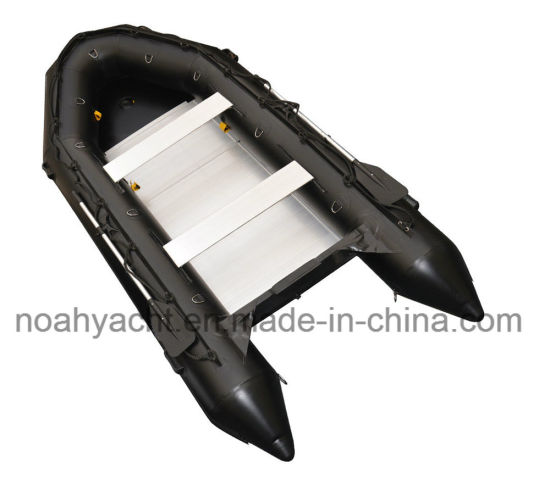Good Quality French Orca Hypalon Fabric Tube and Aluminum Floor Inflatable Boat Ryk-430 for Sale pictures & photos