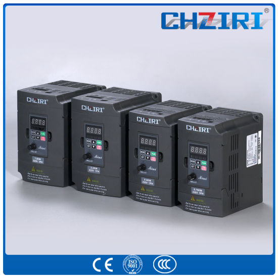 Chziri AC Drive Electric Motor Speed with Ce Certificate pictures & photos