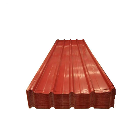 Building Material Steel Roof Tile PPGI Corrugated Roofing Sheet