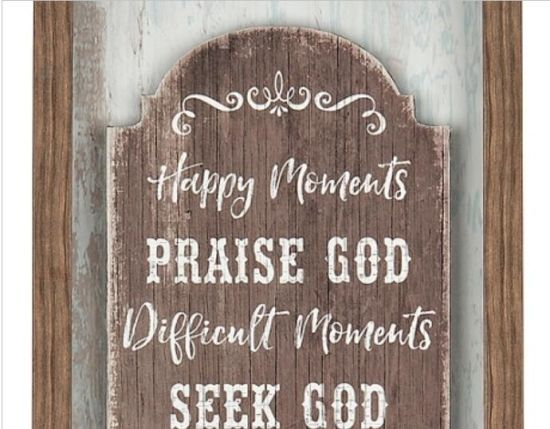 China Wood Glass Home Decor Signs Thank God Framed Shadowbox