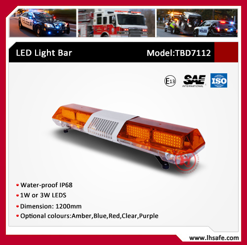 Police Vehicle LED Warning Light Bar (TBD7112) pictures & photos