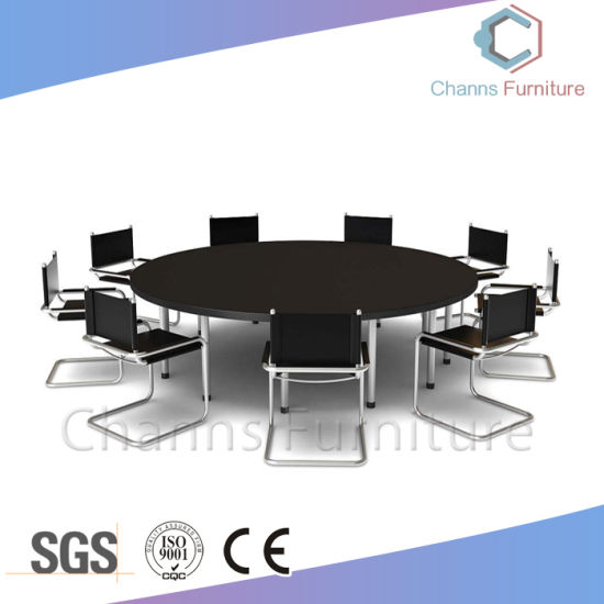 China Modern Furniture Big Size Persons Round Office Desk Meeting - Round conference table for 10