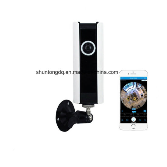 1MP 720p HD Fisheye 185 Degree Panorama Mini Wireless WiFi IP Camera Two Way Audio SD Card Security CCTV Vr Camera