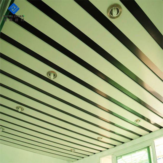 China Industrial Use Color Coated Aluminium Ceiling Panel In Workshop Station Hall China Perforated Ceiling Building Material