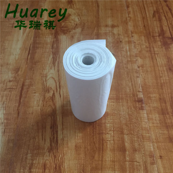 Hight Good Quality Handle Trash Liner Garbage Plastic Packgaing Bag, for Office