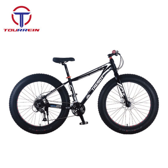 China Aluminium Material Alloy Frame Fat Tire 4.0 Mountain Bike ...