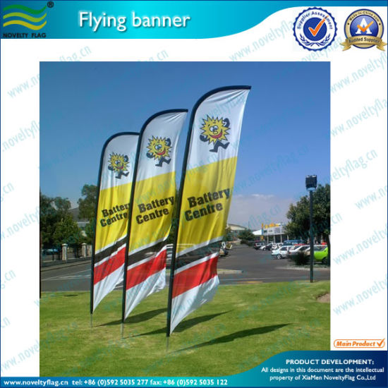 Portable Advertising Outdoor Display Knife Flag (M-NF04F06020) pictures & photos