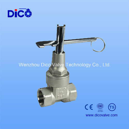 NPT Light Type Gate Valve with Ts/Ce/ISO9001 pictures & photos