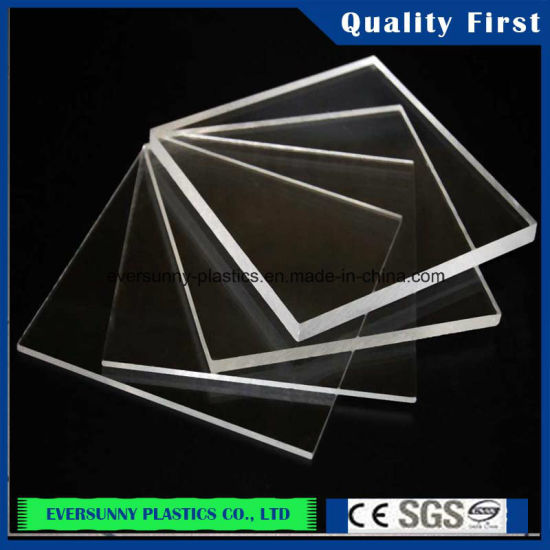 China Factory Transparent Color Clear Cast Plastic Acrylic ...