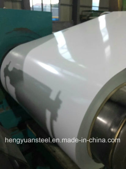 White Colors Z90 PPGI Color Coated Steel Sheet for Roof