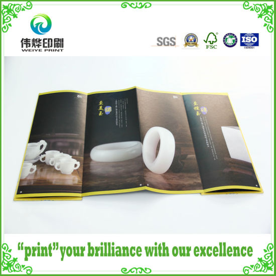 China Manufacturer Custom High Quality And Cheap Full Color Flyer With Logo Printing