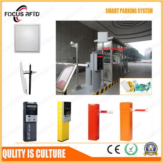 China High Performance RFID Car Parking System with UHF Reader and ...