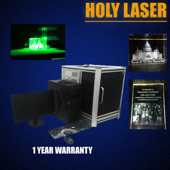 Distributors Wanted! 3D Laser Engraving Machine pictures & photos