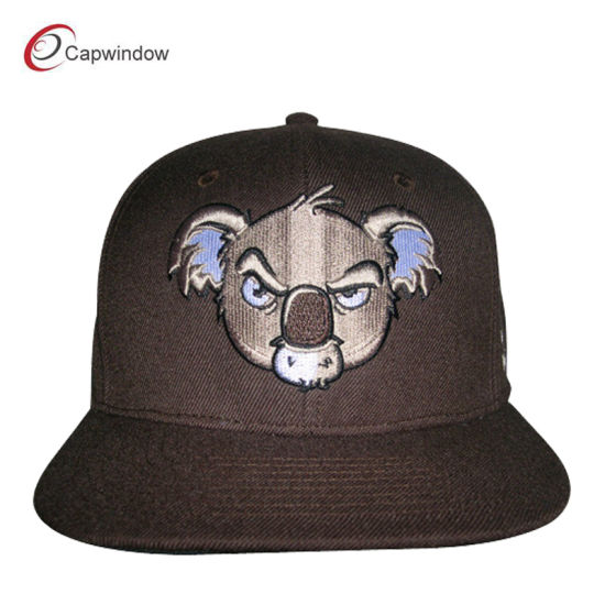 China New Customized Sports Snapback Hat With Puff Embroidery 01836