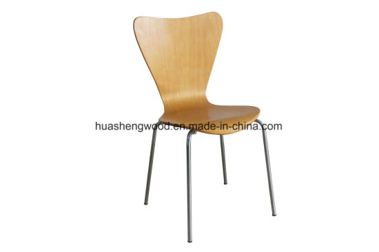 Commercial Grade Colorful Bentwood Canteen Dining Chair pictures & photos