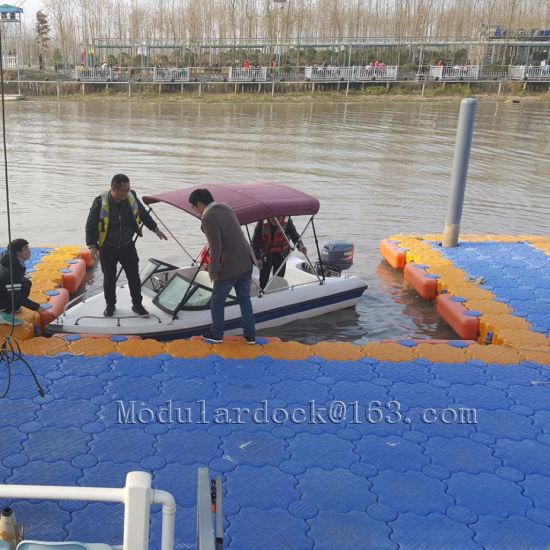 China Plastic Water Floating Platform