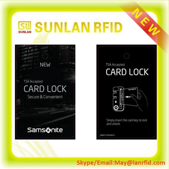 RFID Hotel MIFARE Key Card for Access Control pictures & photos