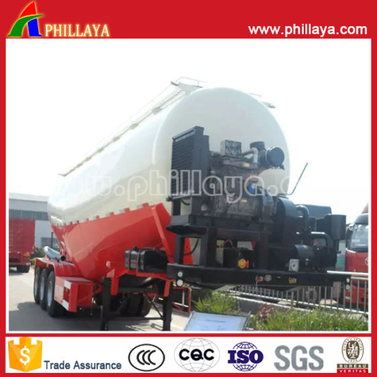 China Three Axle Light Vehicle Aluminum Alloy Tank Cement