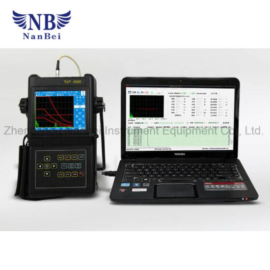 Portable Industrial Digital Current Ultrasonic Flaw Detector pictures & photos