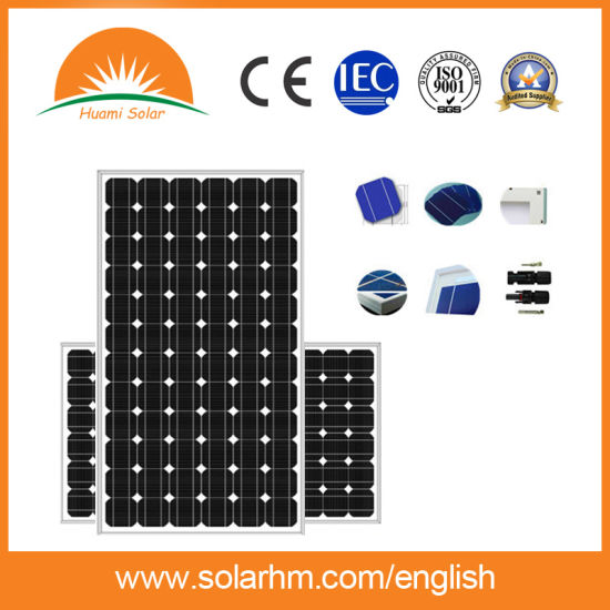 325W Mono-Crystalline Solar Panel with TUV Certificate pictures & photos