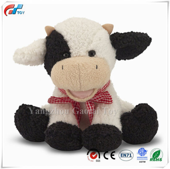 Meadow Medley Calf Stuffed Animal Toy Baby Cow with Moo Sound Effect