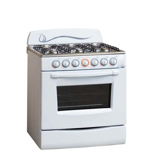 6 Burner Gas Free Standing Gas Oven Professional Gas Cooker