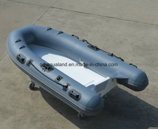 Aqualand 9feet 2.7m Rib Motor Boat/Rigid Inflatable Fishing Boat (rib270) pictures & photos