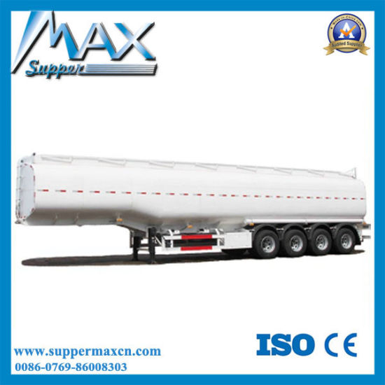 4 Axles Chemical Fuel Tank Semi Trailer Oil Tanker pictures & photos