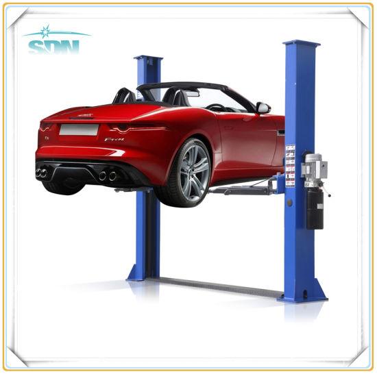 china 4 tons 2 post car lift with manual release china vehicle rh sinowalton en made in china com