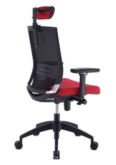 Task Working Office Chair with Simple Geometry Design Adjusted Height