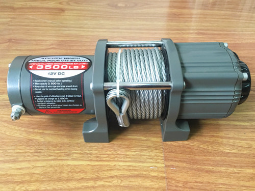 3500lb 3-Stage Planetary ATV/Utility Electric Winch with Automatic Load-Holding Brake