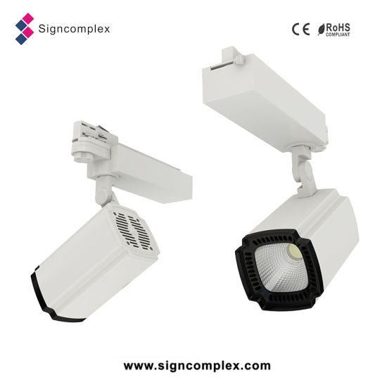 Shenzhen CRI80/CRI90 Citizen COB 35W 50W LED Track Light with Ce RoHS pictures & photos