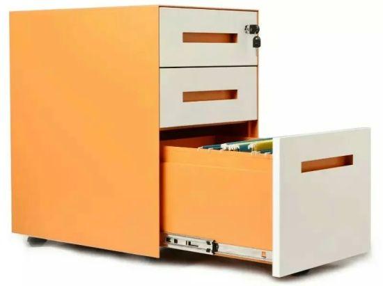 china fashion design office metal moving filing cabinet with lock metal file cabinet with lock