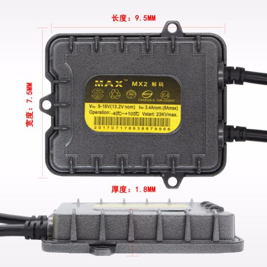 China Hot Sales H4 Bi Xenon HID Xenon Kit 35W HID Ballast