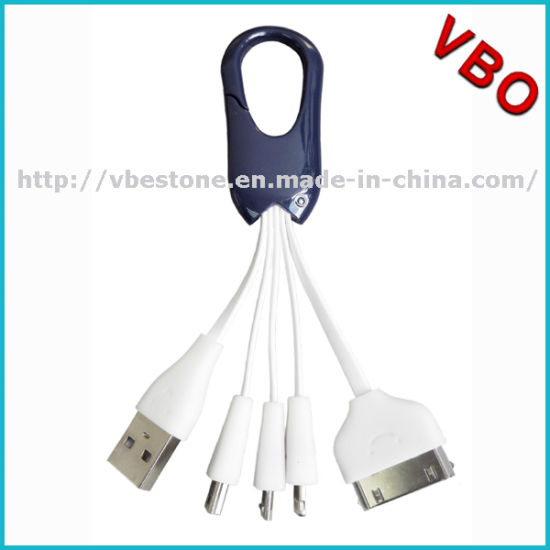 New Products Portable Keychain Micro USB Data Cable Connector Mobile Phone Chargers Cable for iPhone 5s 6s