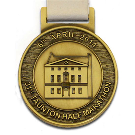 Customized Brass Printed Honor Softball Medal Dog Depot Hand Malaysia pictures & photos
