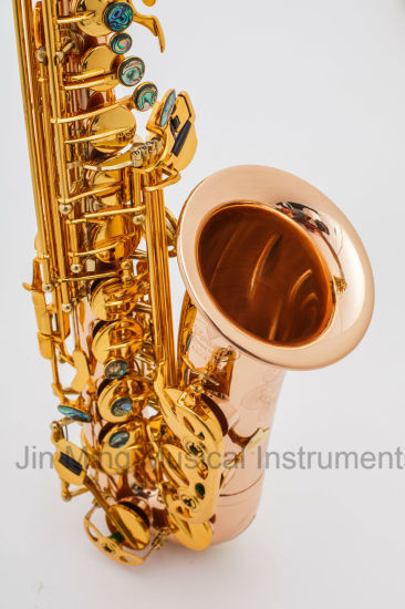 Copper Rose Brass Alto Saxophone Very Good Quality Manufacturer Handmade pictures & photos