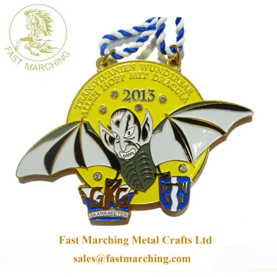 Factory Price Custom Funny Awards Neck Ribbons for Medals