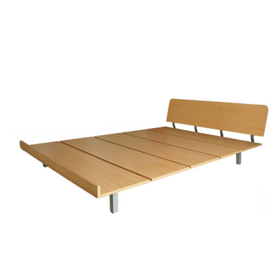 China Simple Platform Bed Frame 14 Inch - China Melamine Particle ...