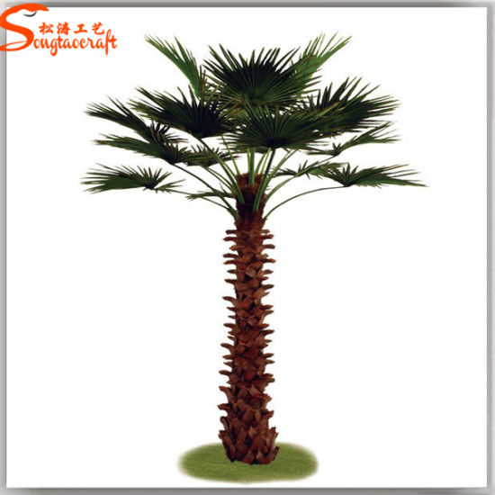 Factory Direct Home Decor Artificial Fan Palm Tree