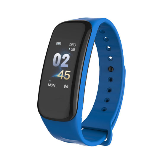 Smart Fitness Tracker, Smart Watch with Blood Pressure Heart Rate Sleep Pedometer Camera Remote Shoot Blood Oxygen Monitor