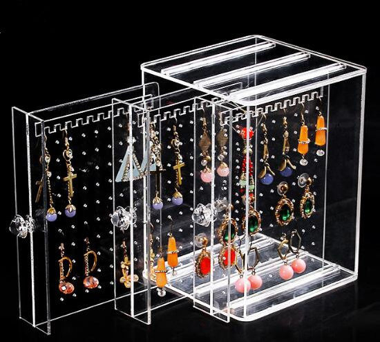 Cube Acrylic Jewelry Display Box pictures & photos