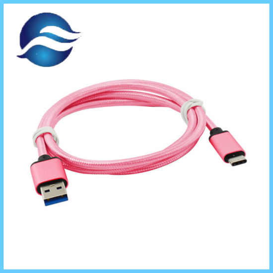 Braided Reversible Type C to 5gbps USB3.0 Cables USB Multi Charger Data Cable