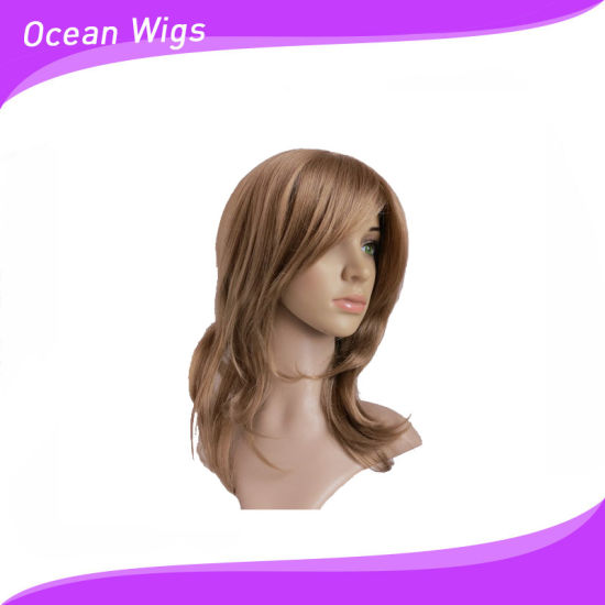 Different Length and Color Synthetic Wig pictures & photos