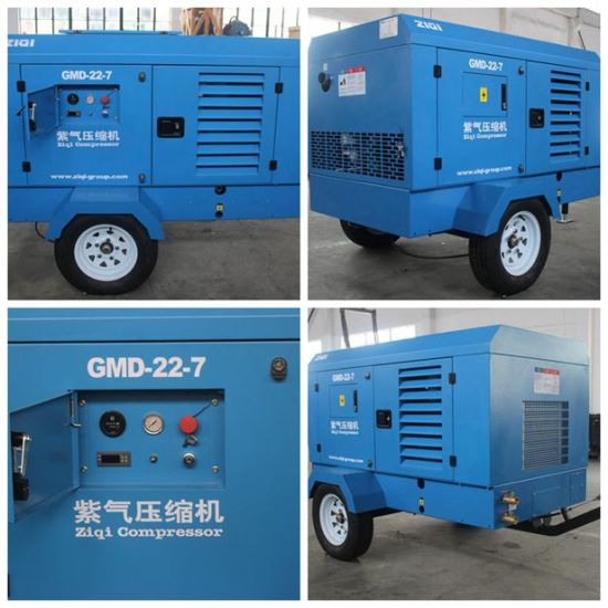 Factory Price Diesel Screw Air Compressor pictures & photos
