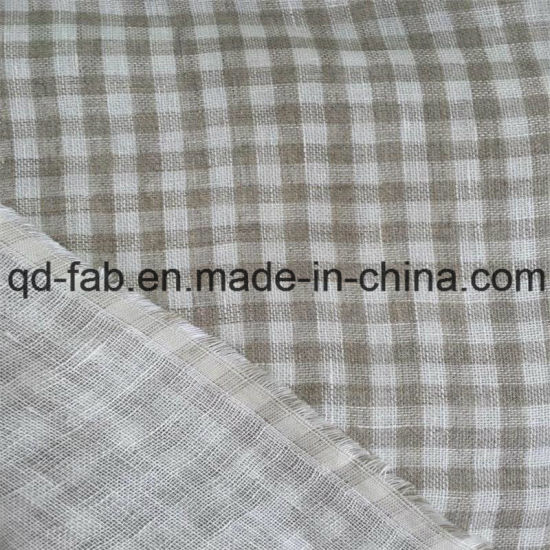 164cm 180G/M2 Two Layer Linen Woven Fabric (QF16-2469) pictures & photos