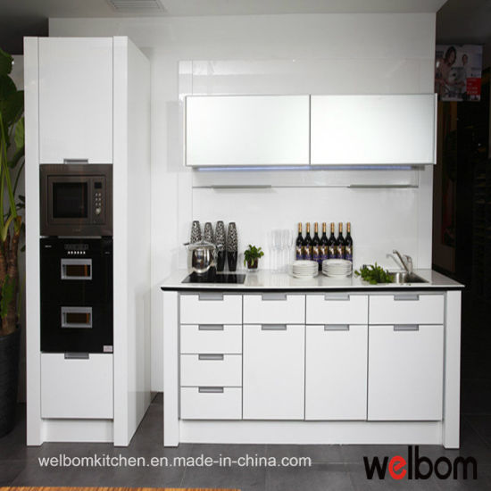 Welbom Romantic Customized Baked Paint Kitchen Cabinet