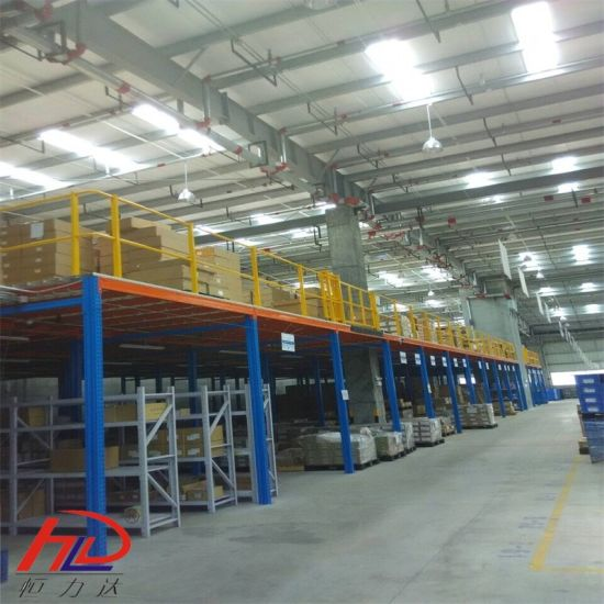 Structural Steel Mezzanine Systems Warehouse Racking pictures & photos